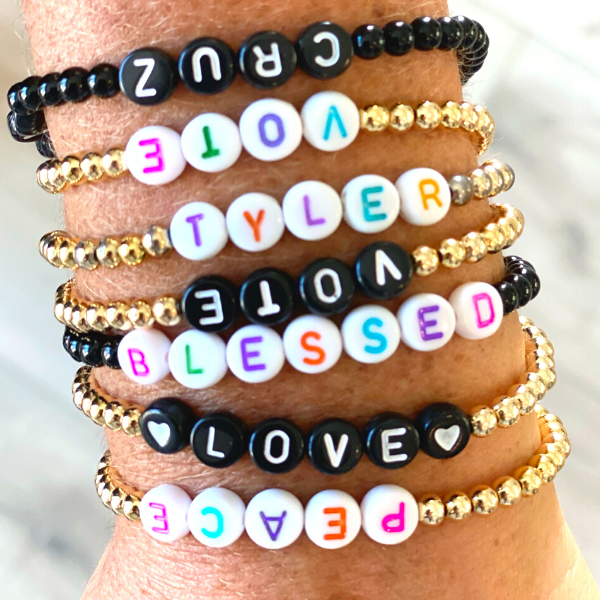 bling it on custom bracelets